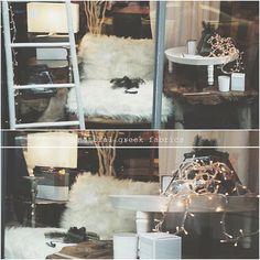 Christmas window! #naturalgreekfabrics #natural #fabrics #home #decor #interior #furniture #christmas #athens
