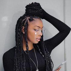 Protective Hairstyles ✨Pinterest✨ Baddiebecky21 Bex ♎   Box Braids Hairstyles