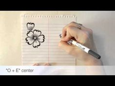 """Henna Alphabet: Element """"B"""" Petal - YouTube"""