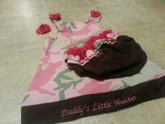 Daddy's little hunter