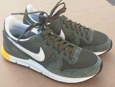 Nike Lunar Pegasus 89 Sz 9 Brown Olive Dark Grey New No Box   eBay