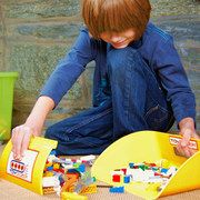 Things we like: not stepping on legos! Toydozer is a great solution! On #zulily today!