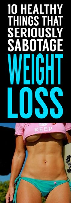 If you've been living in the gym lately and eating all the right foods yet not seeing the results you hoped for, maybe you need to re-think your weight loss plan. watch out for these 10 things you might need to alter in your regimen for you to hit your health targets!