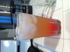 POrNstaR!  1 shot of Xraided 1 shot of peach shnapps 1 shot of pineapple juice 1 shot of sprite  1 shot of malibu passionfruit