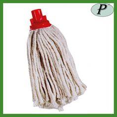 Mopas de algodón crudo fino de 180 gm en Planas, Fregonas para limpiezas generales con anti-roce para no dañar la superficie: http://www.tplanas.com/epis/utiles-limpieza/233-mopas-o-fregonas-super-de-algodon-180-gm.html