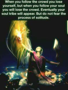Replace crowd with world✨🙏 Do not fear the process 💖💖💖 Spiritual Enlightenment, Spiritual Wisdom, Spiritual Growth, Spiritual Awakening, Stage Yoga, Yoga Lyon, Energie Positive, Awakening Quotes, Spiritual Awareness