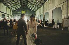 INCREDIBLE warehouse wedding