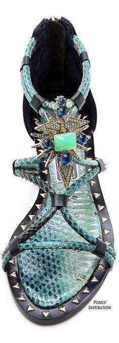 Ivy Kirzhner Basil Embellished flat Sandals | Purely Inspiration