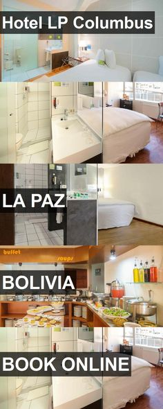 Hotel LP Columbus in La Paz, Bolivia. For more information, photos, reviews and best prices please follow the link. #Bolivia #LaPaz #travel #vacation #hotel