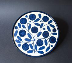 Vintage Melitta Stockholm Plate by GoGoBerlinette on Etsy, €12.00