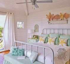 Matters of Style: Beachy Bedrooms