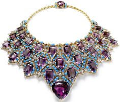 Draperie necklace by Cartier Paris, circa 1947.   Designed and made to order for the Duke of Windsor. N.Welsh, Collection Cartier © Cartier. Via Diamonds in the Library.
