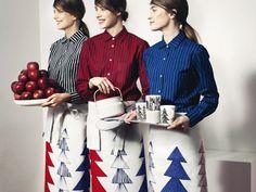 The classic Jokapoika shirt by Marimekko - available at Placewares!