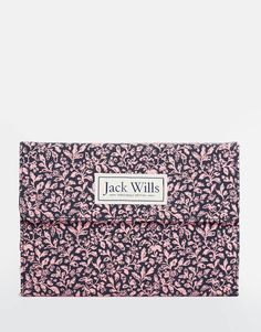 Jack+Wills+Pink+Floral+iPad+Mini+Case