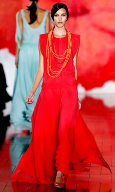 Tory Burch, Spring 2012 - love this look!