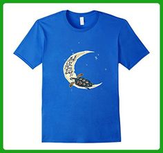 Mens I love you to the moon and back turtle t-shirt 3XL Royal Blue - Animal shirts (*Amazon Partner-Link)