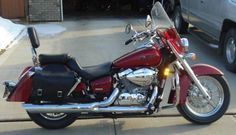 My 2005 Honda Shadow