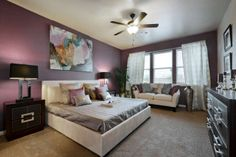 The incredible Master Bedroom in the Model home in the amazing Siena Community Saratoga Homes, Model Homes, Siena, Awesome, Amazing, Master Bedroom, Bedrooms, The Incredibles, Community