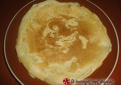 pancakes without eggs(Greek link) Vegan Sweets, Sweets Recipes, Vegan Desserts, Vegan Recipes, Snack Recipes, Cooking Recipes, Snacks, Greek Desserts, Greek Recipes