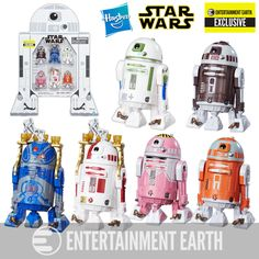 (affiliate link) Star Wars The Black Series Astromech Droids 3 3/4-Inch Action Figures - Entertainment Earth Exclusive