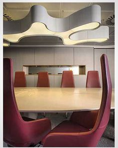 World Rugby boardroom #dublin #lghimacs #sineticaindustries #vibia #formica by slmd_interiors