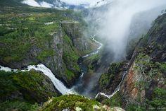 Vøringsfossen Norway by Ralph Oechsle