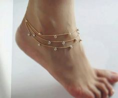 toe rings and Check out mega collection of Stunning Anklets that are must buy, we have anklets for every occasion. Share these great products with your friends too Ankle Jewelry, Body Jewelry, Jewelry Tattoo, Jewellery, I Love Jewelry, Jewelry Design, Dainty Jewelry, Jewelry Shop, Cute Anklets