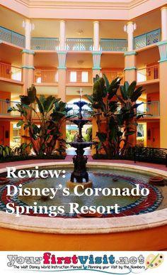 Disney World Resorts | Review: Disney's Coronado Springs Resort - The Walt Disney World Instruction Manual --yourfirstvisit.net