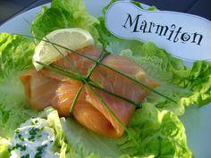 Recette de Paupiettes de saumon fumé