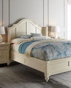 -5WEY   Clarice King Bed Clarice Queen Bed Clarice Two-Door Nightstand