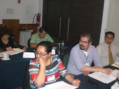 Durante el curso los asistentes debatieron sus puntos de vista para obtener un resultado concreto.