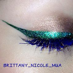 brittany_nicole_mua inspired by Emerald. How does the Color of the Year inspire you? Take a pic & tag it #SephoraPantone—it could be featured on our Instagram or Pinterest! #StPatricksDay #StPaddys
