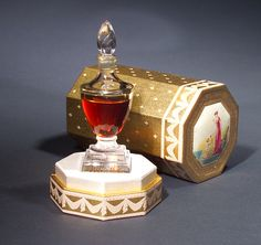 """""""Directoire,"""" a perfume bottle for Charles of the Ritz, 1946"""