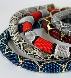 Crochet Beaded Bracelets, Bead Loom Bracelets, Beaded Choker, Beaded Earrings, Beaded Jewelry, Crochet Necklace, Bead Crochet Patterns, Bead Crochet Rope, Bead Jewelry