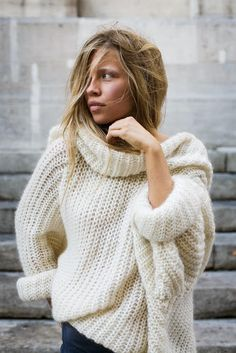 Chunky and amazing sweater
