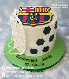 Fc Barcelona, Birthday Cake, Desserts, Food, Tailgate Desserts, Birthday Cakes, Meal, Dessert, Eten