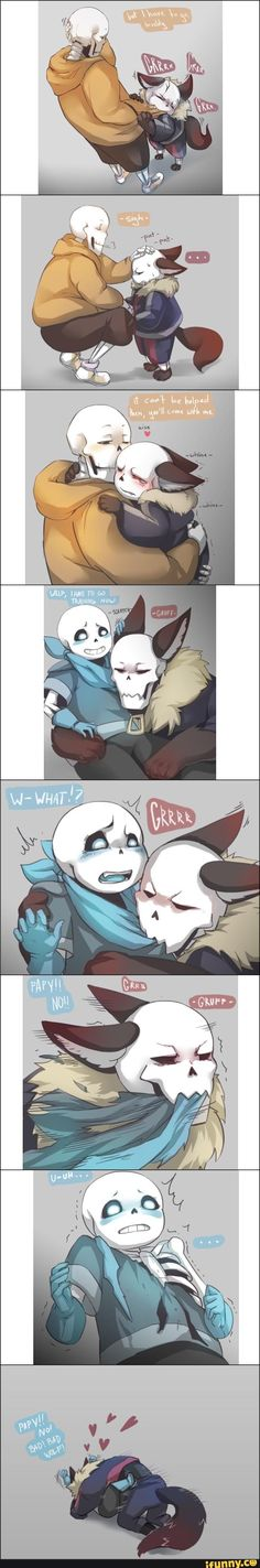 Well this is kinda cute Undertale Comic Funny, Undertale Pictures, Undertale Memes, Undertale Drawings, Undertale Ships, Undertale Cute, Undertale Fanart, Underswap Papyrus, Manga