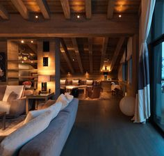 La Bergerie – A Square Foot Newly Built Chalet In Courchevel, France – Natali Sznajderman – Join the world of pin Chalet Interior, Home Interior Design, Interior Architecture, Interior And Exterior, Cabin Homes, Log Homes, Chalet Design, House Design, Design Design
