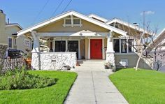 craftsman style homes | Little Guide to Craftsman Style Homes – soulful abode