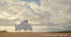Google a conçu des drones capables de livrer des colis