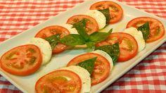 Receta fácil de ensalada Caprese (ensalada Italiana)