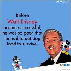 #DidYouKnow   #Facts   #WaltDisney   #Disney