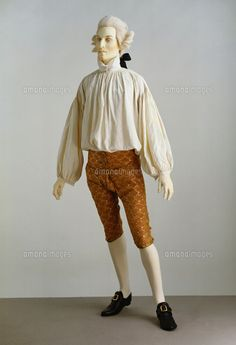 Shirt and breeches. France, mid-18th century (c)Victoria and Albert Museum, London