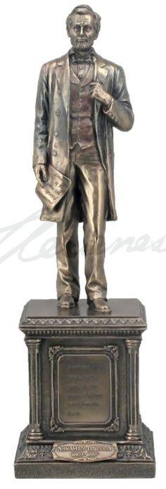 President Abraham Lincoln On Pedestal Statue