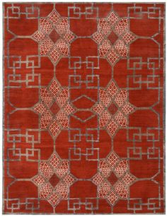 Chambre 01 in the Chinois Collection by Ben Soleimani for Mansour Modern is featured in today's Hue: Ruby Red post...