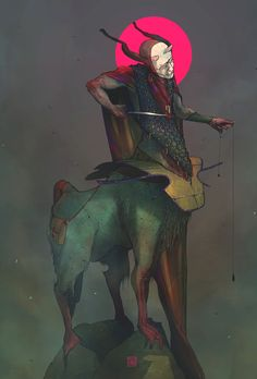 Centaurus, Tano Bonfanti on ArtStation at https://www.artstation.com/artwork/dbJAx