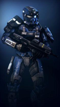 [SFM] Blue Spartan by AmberReaper.deviantart.com on @DeviantArt