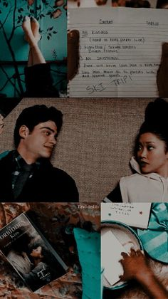 """'To all the boys I've loved before' FREE lockscreens 🍃 RT if you're saving 🌹 Please be honest 🌻 -S. Ps I Love, I Still Love You, I Fall In Love, Lara Jean, Movie Couples, Cute Couples, Movie Wallpapers, Cute Wallpapers, My Life Next Door"