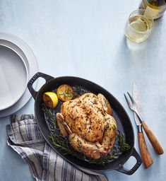 Clone of Slow-Roasted Lemon Herb Chicken Roast Chicken Recipes, Turkey Recipes, New Recipes, Cooking Recipes, Healthy Recipes, Lemon Recipes, Keto Chicken, What's Cooking, Recipies