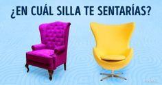 Test: Elige una silla ydescubre qué lugar ocupas enesta vida
